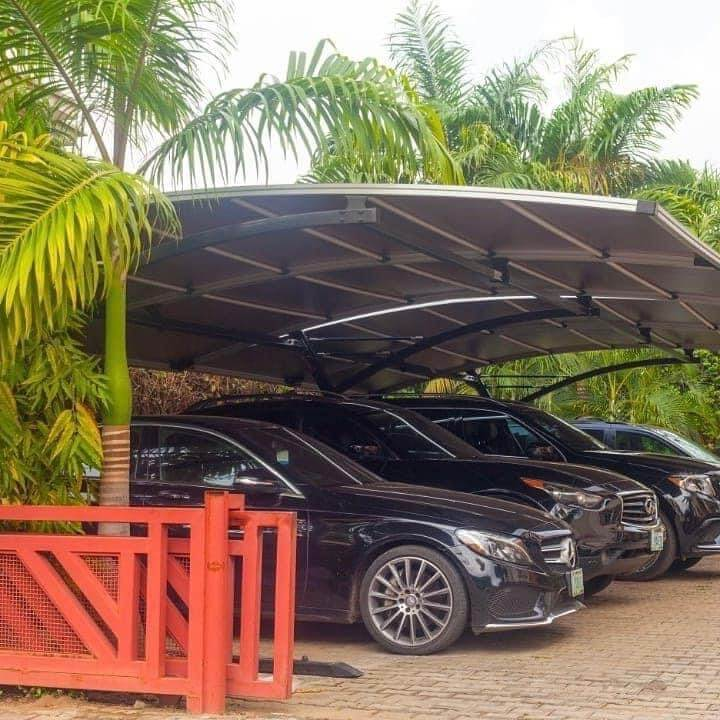 Dome carport Darwin